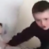 This kid falling off a bed proves Irish children are indestructible
