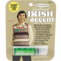 Ah g'way... The Irish accent is only the third most attractive in the world