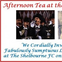 Want to go for some afternoon tea at the Shelbourne FC?