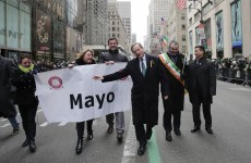 Enda will NOT be marching in New York's St Patrick's Day parade