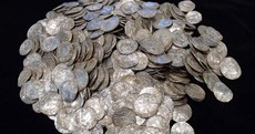 Man with metal detector finds one of Britain's largest hoard of buried treasure... hopes to buy new house