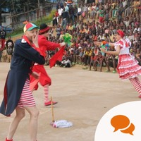 My six days working as a clown at a refugee camp in Rwanda