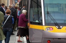 Man rushed to hospital after he was hit by a Luas