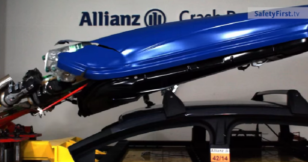 VIDEO: This is how dangerous your roof box can be