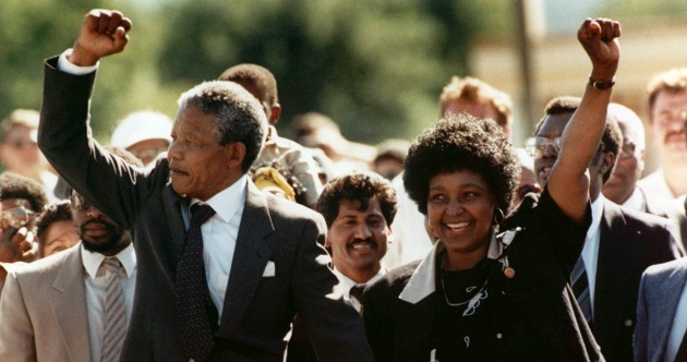 On this day 25 years ago, Nelson Mandela walked free