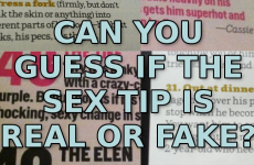 Quiz: Are These Bizarre Sex Tips Real Or Fake?