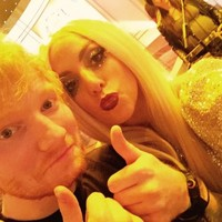 Ed Sheeran excellently responded to rumours Gaga mistook him for a waiter