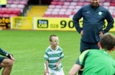 11-year old Celtic fan's goal nominted for SPFL Goal of the Month