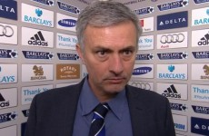 Mourinho walks out on BBC interview after question about Ivanovic's apparent headbutt