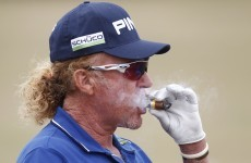 Miguel Angel Jimenez reaffirms his place as the world's coolest golfer