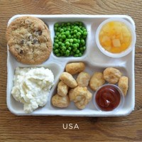Take a break and see what schoolkids around the world eat for lunch