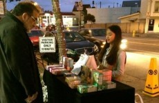 Girl Scout sets up outside a marijuana clinic, sells hundreds of cookies in the process