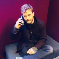 Jamie Dornan holding an aubergine is everything and you know it
