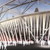 Wrap it up: Olympic Stadium gets cloth curtains