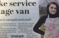 This is the most unfortunate newspaper typo you'll see today