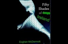 Here's Fifty Shades with the rude words replaced with Irish place names