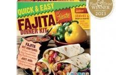 Aldi fajita dinner recalled over undeclared nuts