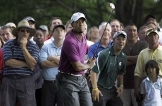 Woods off to strong start at Bridgestone with 68