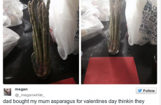 The biggest Valentine's Fail of the day, hands down