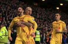 Liverpool come from behind to push past Palace and into the last eight