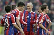 Bayern Munich recorded the biggest Bundesliga win since 1984 earlier today