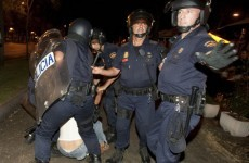 20 injured in Madrid as police charge anti-austerity protesters