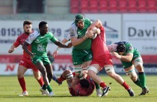 Connacht barely maintain their top six place after Scarlets beat them with a bonus point