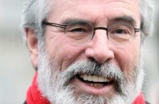 Gerry Adams says he likes to trampoline naked with his dog and it's getting a lot of attention