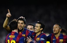 Another hat-trick from Messi but Suarez scissors kick the pick of the bunch