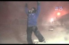 This weatherman is WAY too excited about catching some 'snowthunder'
