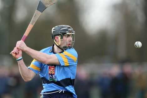 James Gannon has also played Fitzgibbon Cup hurling with UCD