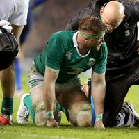 Fractures to three vertebrae mean Jamie Heaslip is out of the England game