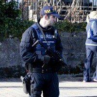 Armed gardaí deployed, roads closed and checkpoints in place for Barney McGinley funeral