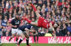 Finn Russell gets cited for taking out Dan Biggar in the air - but should he have been?