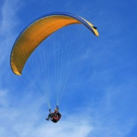 A man bought a voucher for paragliding and was horribly injured in first flight