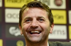 Tim Sherwood has a new twist on his 'supply teacher' analogy now that he's Villa boss