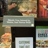 A prankster truthfully renamed sections of his local bookstore and it was hilarious