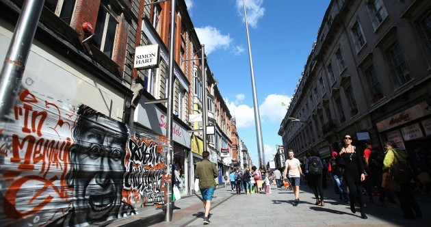 Shoppers are spending more on Henry Street than Grafton Street