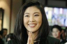Thailand's first female Prime Minister takes her seat