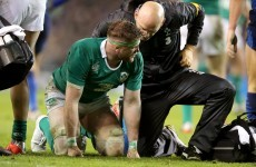 Jamie Heaslip accepts Papé apology after knee to back fractures three verebrae