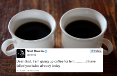 You're not alone - 7 people who have already broken their Lent promises