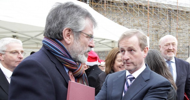Gerry to Enda: I'm trying to prick your 'golden circle' bubble