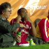 Former United misfit Anderson requires oxygen after being subbed before half time