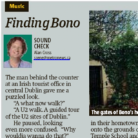 This U2 fan came to Dublin and was extremely disappointed by what he found
