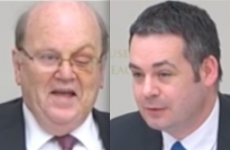 Video: There was some unlikely banter between these two political foes earlier...