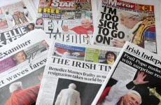 A bad day for Irish newspapers: all of them have lost sales in the past year