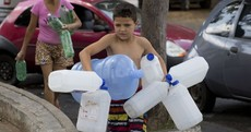 Protesters take to the streets of Brazil over their dwindling water supply