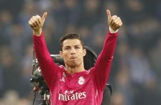 Cristiano Ronaldo ends goal drought* as Real Madrid seize last 16 advantage