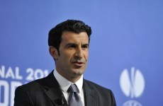 Luis Figo will expand the World Cup to over 40 teams if he becomes FIFA president