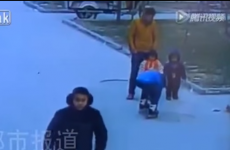 This 5-year-old boy had an incredibly lucky escape